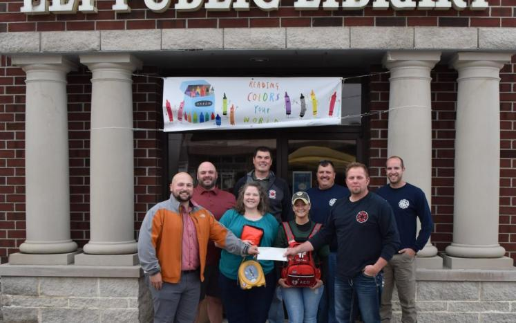 Fire Department Donation of AED's