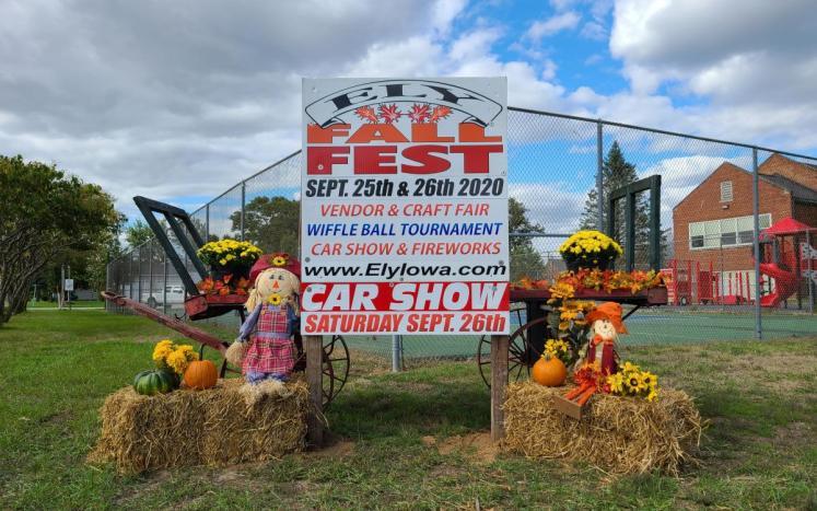 Fall Fest Sign