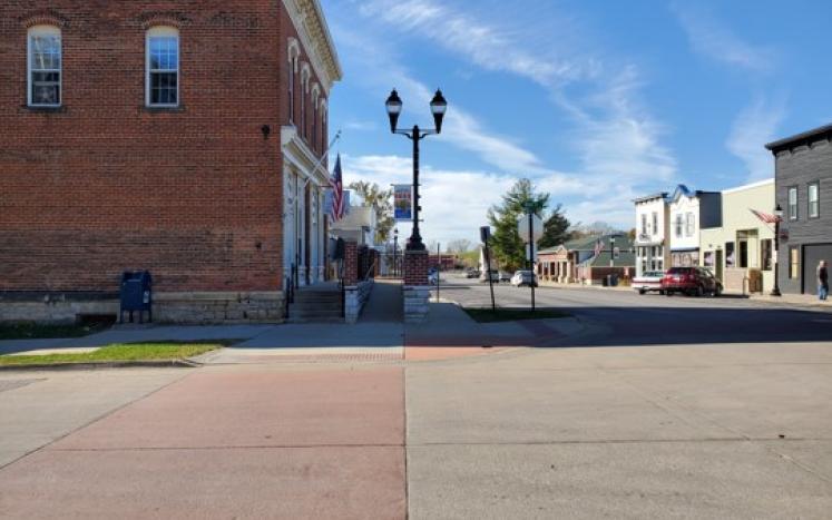 Downtown Ely Street Corner