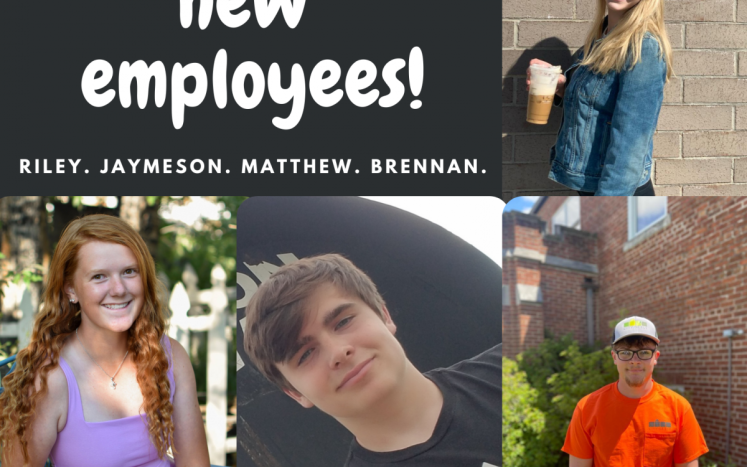Pictures of four new ely employees